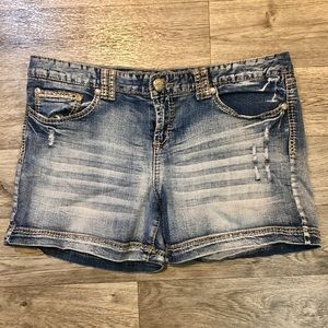Maurices Original High Rise Denim Shorts 15/16